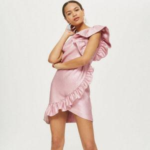 NWD 🌟Cute🌟One Shoulder Textured Mini Dress